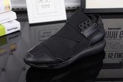 Ультра модные кроссовки Y3 черные с бархатом